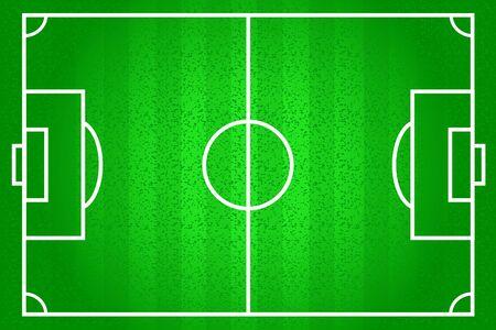 Football field vector background game pattern template Reklamní fotografie