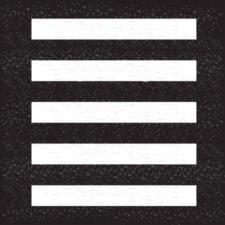 Crosswalk top view vector illustration background icon