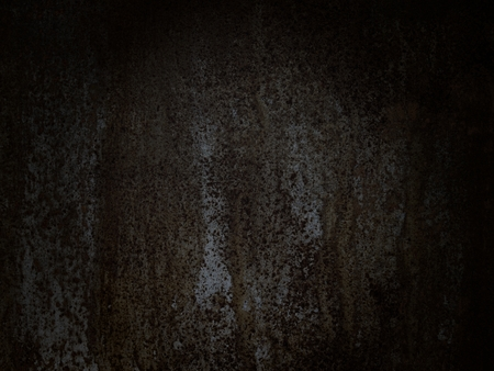 edited photo: Dark background of a rusty steel plate; photo taken of a surface and edited to a dark and sullen background, useful for different applications