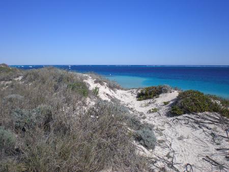 Wonderful Beach in Western Australia, near the Ningaloo Reef Stock Photo