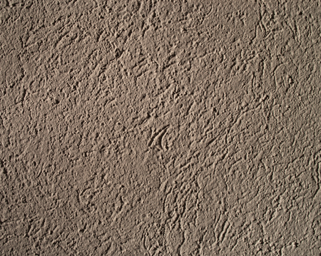 Close-up of a plastered wall (interiour), useful as background, shadow-map or other things Stock Photo