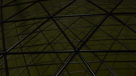 Triangular grid, useful as background for technology, science, and dark and scary backgrounds in entertainment and advertising applications Фото со стока