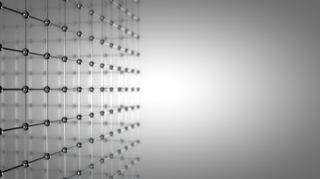 Abstract Grid Background, with Depth of Field