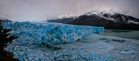 Glaciers of the Perito Moreno Glacier in Patagonia Argentina