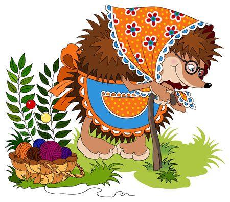 Cute hedgehog Stock Vector - 9307572