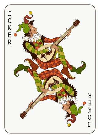 fool: Joker Playing Card
