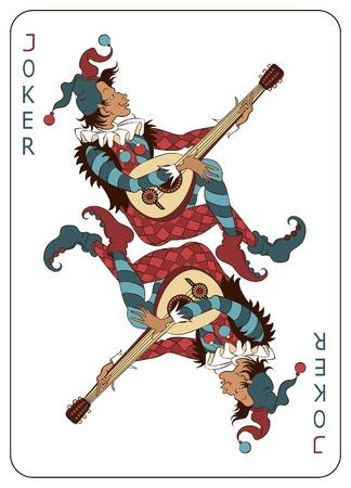 face card: Joker Playing Card