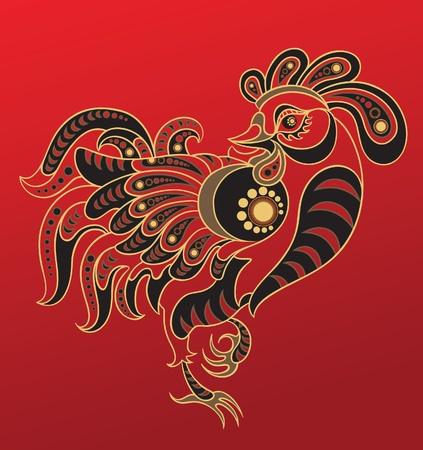 Chinese horoscoop. Jaar van de haan