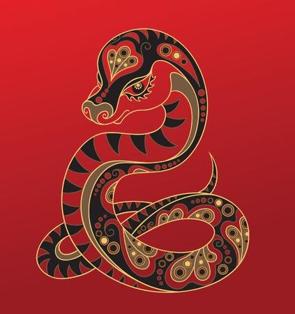 Chinese horoscope. Year of the snake
