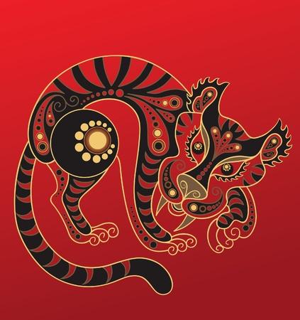 중국 별자리. 호랑이의 해