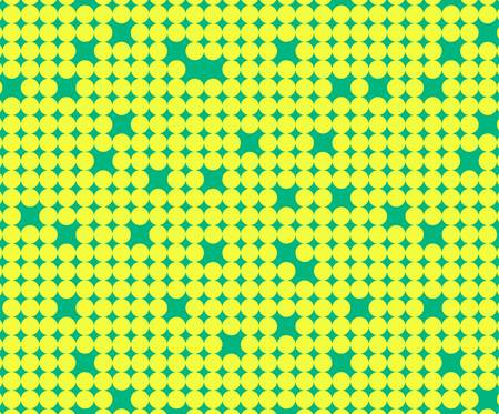 bolus: Seamless pattern with little yellow circles