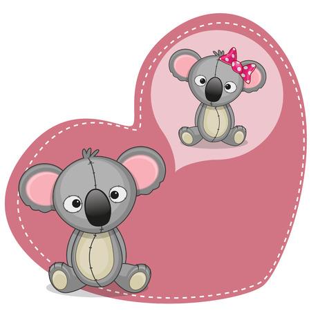 koala: Tarjeta de felicitación Dreaming Koala linda