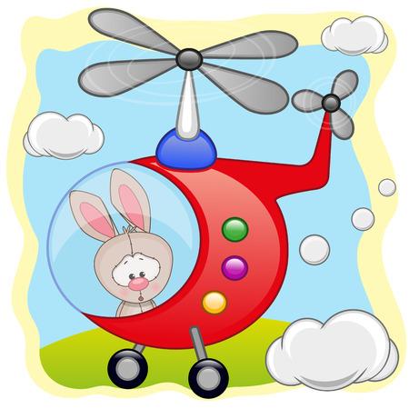 freeride: Conejo est� volando en un helic�ptero