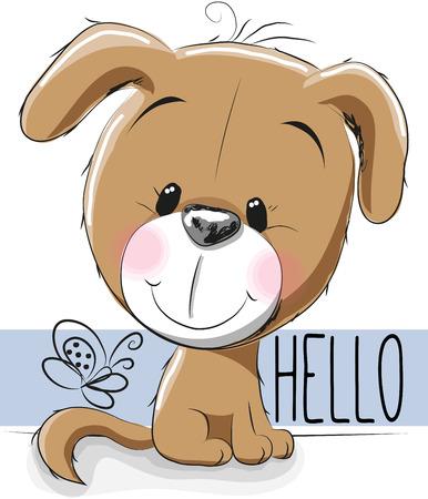 lap dog: Cute Dog isolated on a white background