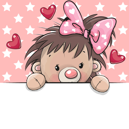 Cute Drawing Hedgehog on a stars background Ilustração