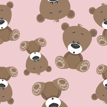 Teddy Bear seamless pattern for your design