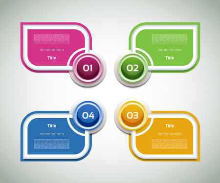 info graphics: Vector Progress Background  Product Choice or Version. eps 10
