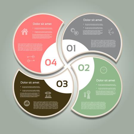 Vector Fortschritt Hintergrund Produkt-Wahl oder Version eps 10