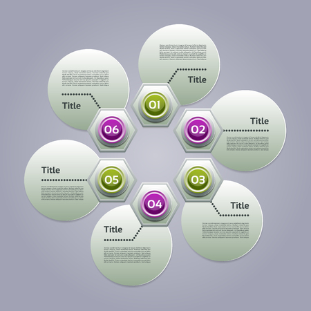 circular flow: Vector Progress Product choice or Version
