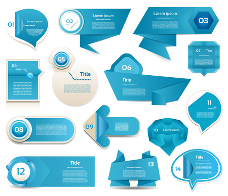 Modern infographics options banner  Vector illustration  can be used for workflow layout, diagram, number options, web design, prints  Vector