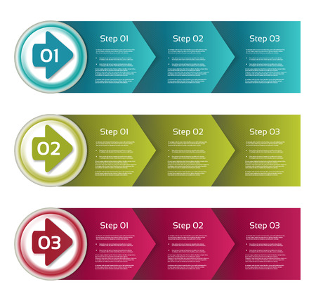 flow chart: Vector Progress Background. Product Choice or Version.