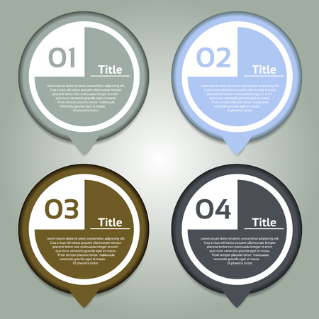 Vector Progress Background  Product Choice or Version  eps 10 Vector