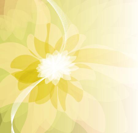 blumen abstrakt: Floral abstrakten Hintergrund Illustration