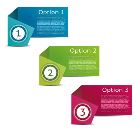Elección Documento de Progreso Vector de fondo del producto o versión