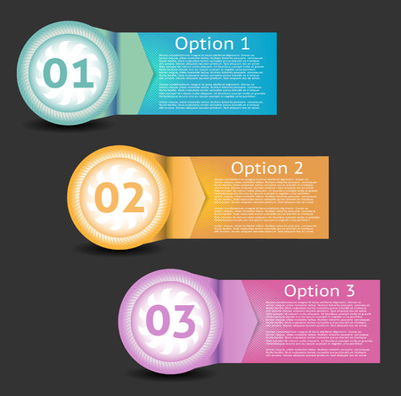 text box: Vector Paper Progress Background  Product Choice or Version.  Illustration