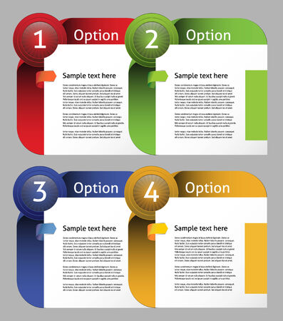 feedback sticker: Vector Paper Progress background  product choice or version