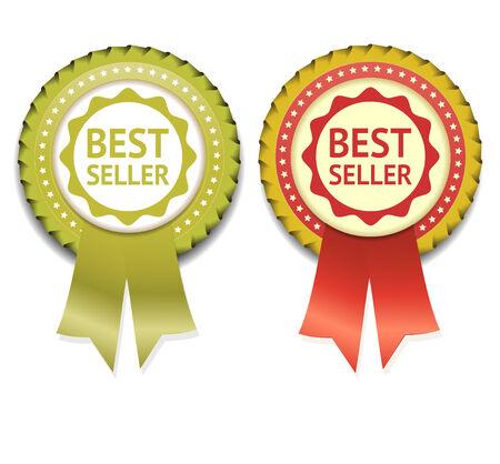 Bestseller Vector Label