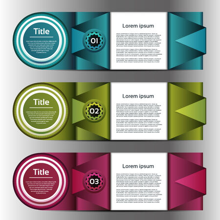 Vector Progress background / product choice or version  Vector