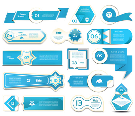 text box: Modern infographics options banner. Vector illustration. can be used for workflow layout, diagram, number options, web design, prints. Illustration