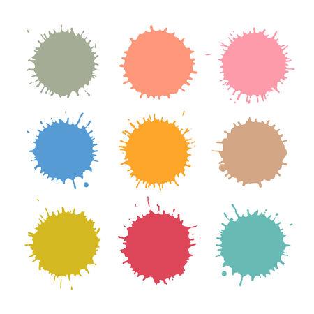 splodge: Colorful  Stains, Blots, Splashes Set