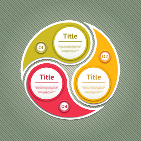 c�clico: Diagrama c�clico con tres pasos