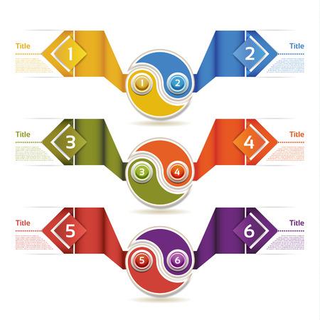Progress Background  Product Choice or Version Illustration