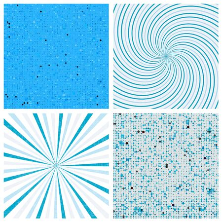 hypnose: Striped abstract vector background.Halftone vector background. Twisted vector background.