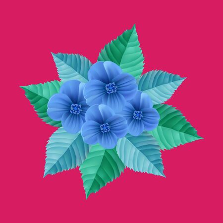 colorize: Flower background