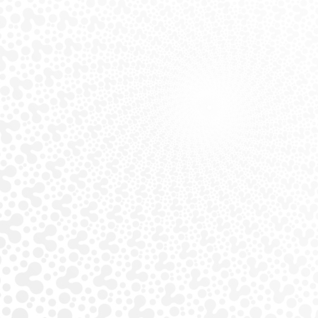 aura energy: white & grey abstract perspective background. eps 10 Illustration