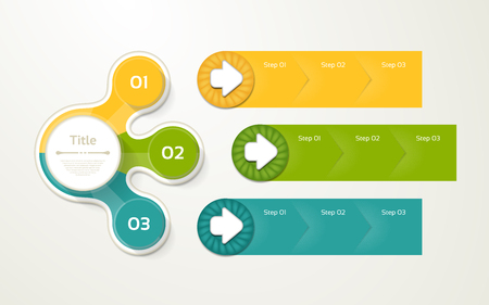 Vector infographic template for diagram, graph, presentation and