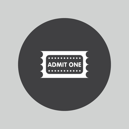 admit one: Admit one icon