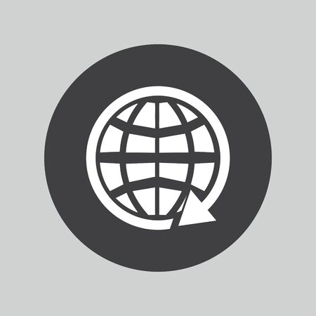 communication: global earth communication icon