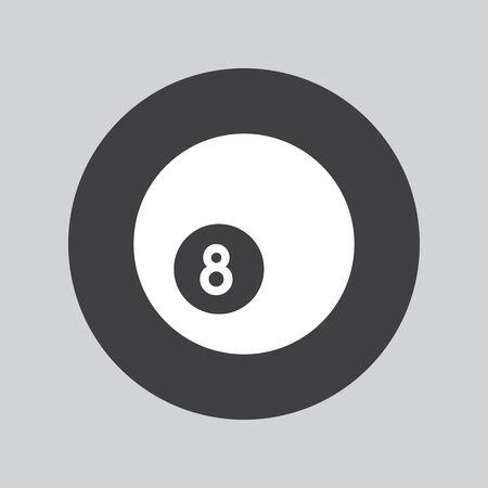 Ball pool icon Illustration