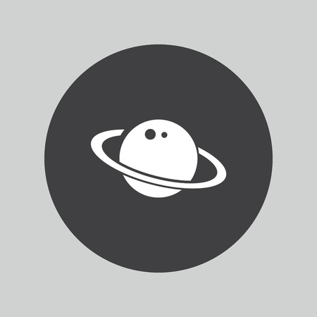 astronomy: Astronomy icon Illustration