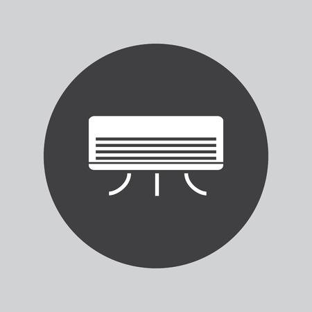 cooler: air cooler icon Illustration