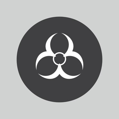 biohazard: Biohazard icon. Danger symbol.