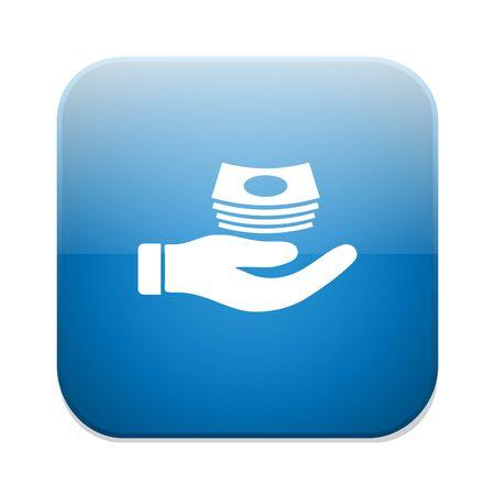 cash money: Cash sign icon. Money symbol.