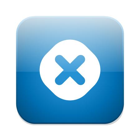 delete: delete remove button Illustration