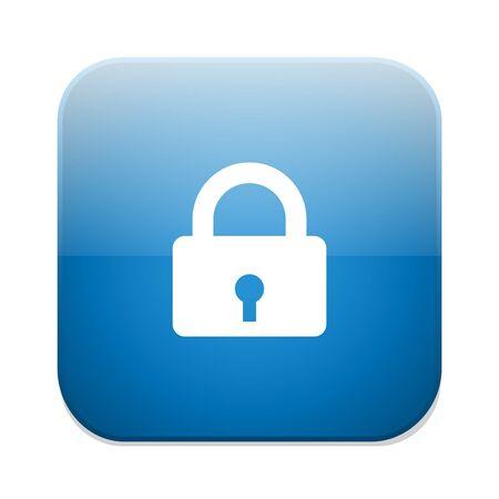 encrypt: Locker icon Illustration