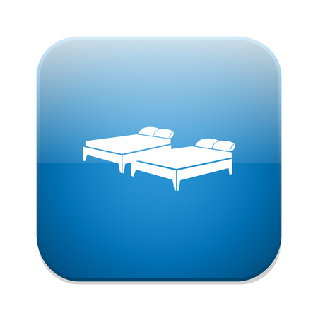 bunk bed: 2 beds icon